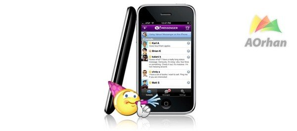 Yahoo-Messenger-iPhone-4