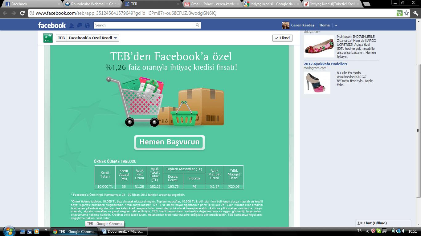 facebook-kredi