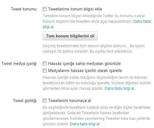 Twitter Ayarları Nasıl Yapılır Neleri Değiştirebiliriz resmi