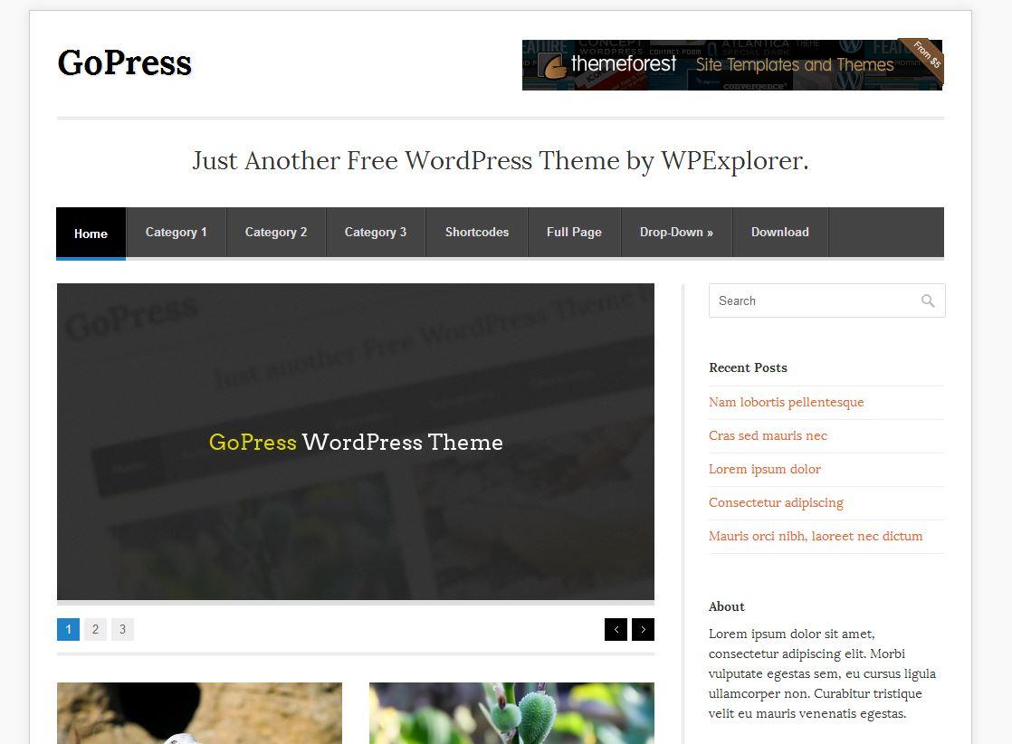 gopress-wordpress-tema