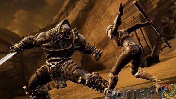 Infinity Blade III; iOS için grafikleri en harika oyun!