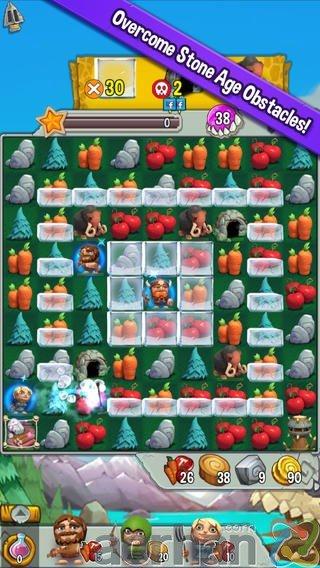 Cavemania: iOS ve Android için Zeka & Bulmaca oyunu