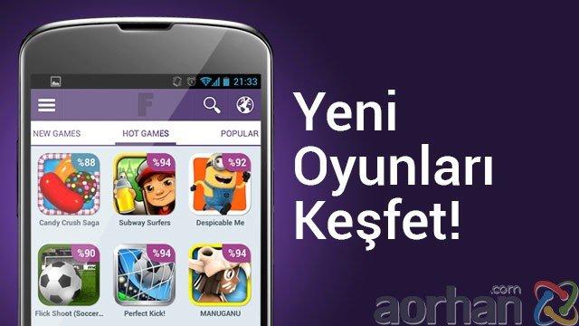 Androidciler için Güncel Oyun Listeleri