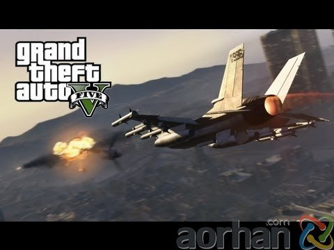 GTA V'de Jet Kaçırma Planı