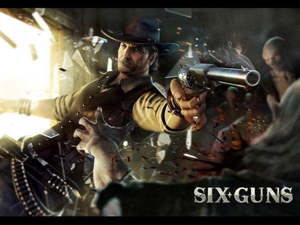 Six Guns: Android ve İOS için Vahşi batı oyunu