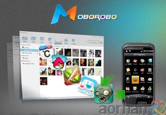 iTunes Benzeri Moborobo Android Telefon Yönetim Uygulaması