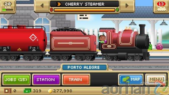 Pocket Trains: iOS ve Android için Tren simulasyon oyunu