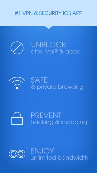 iPhone için Hotspot Shield VPN