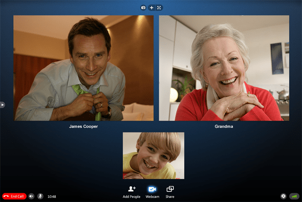 how to make a group call on skype mobile