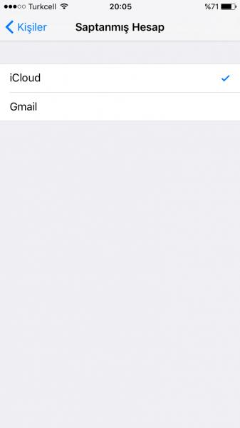 iPhone'un Rehberinde Birincil Hesap Nasıl Belirlenir?