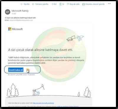 Windows 10'da Aile Hesabına Yetişkin Hesabı Ekleme