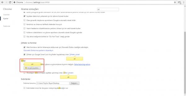 Google Chrome'a Yeni Dil Nasıl Eklenir?