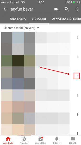 YouTube'a Yüklediğiniz Videolar Nasıl Silinir?