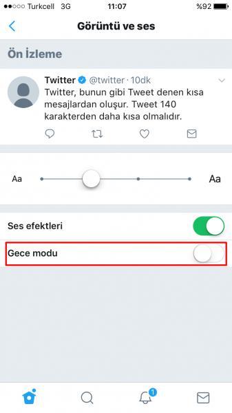 Twitter'da Gece Modu Nasıl Aktif Edilir?