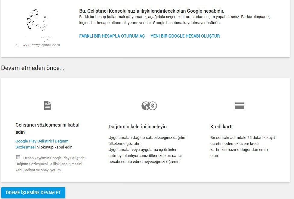 Google Play Store Geliştirici Hesabı Nasıl Açılır?