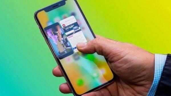 iPhone X'de Uygulamaları Zorla Kapatmak