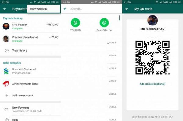 Whatsapp QR Kod Ödemesi
