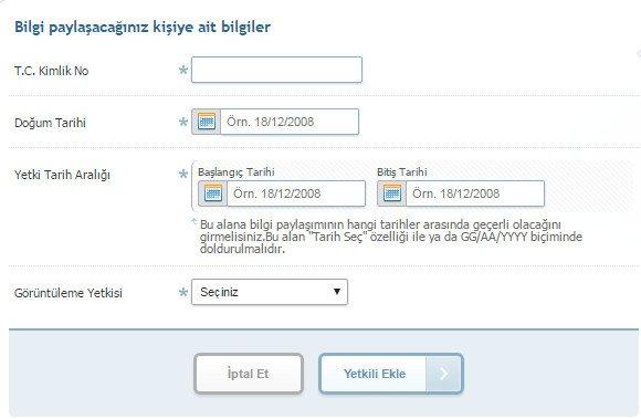 Şifre Vermeden e-Devlet Bilgilerini Başkalarıyla Paylaşma