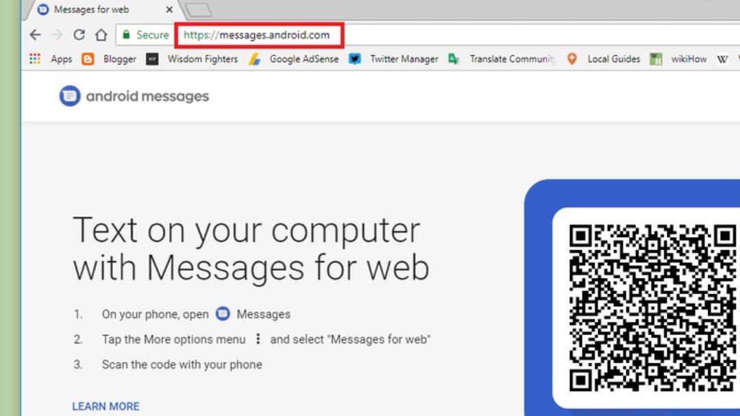 Android Message Bilgisayarda Nasıl Kullanılır?
