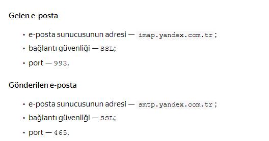 Yandex Mail Programdan Mail Silinmiyor