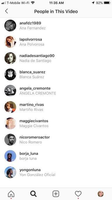 Instagram Video Etiketleme Özelliği