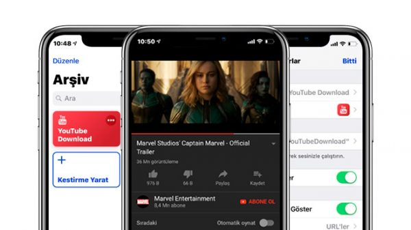 iOS 12'de Youtube Üzerinden Video İndirmek