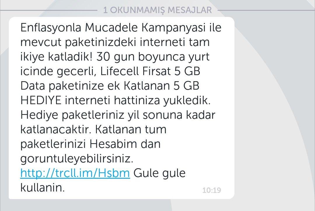 Turkcell'den 2 Kat İnternet Kampanyasına Katılmak