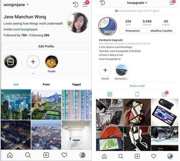 Instagram Profil Sayfası Yenileniyor