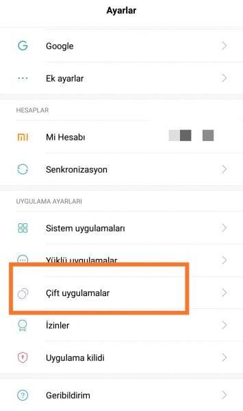 Android'de Aynı Uygulamayı Çift Kullanmak