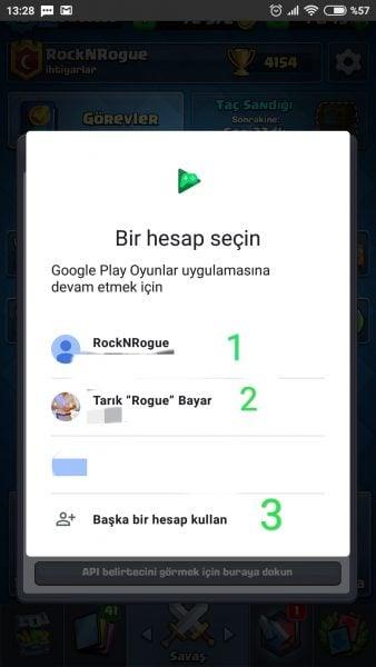 Android'de Bir Oyunda Birden Fazla Hesap Nasıl Açılır?