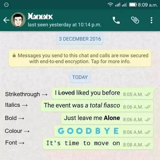 WhatsApp Yazı Tipini Değiştirme Nasıl Yapılır?
