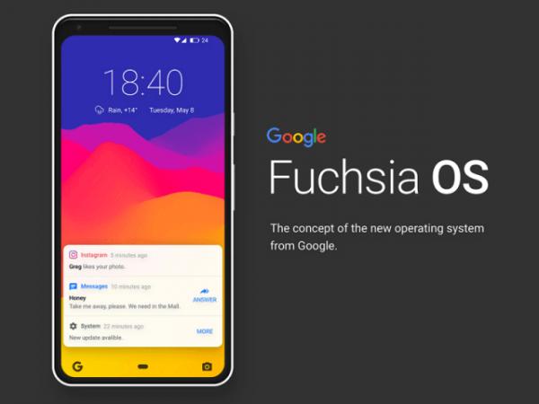 Fuchsia OS Android Uygulamaları Da Çalıştıracak
