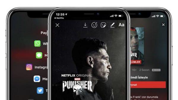 Netflix'in Instagram Özelliği Hikayelerde Paylaşın