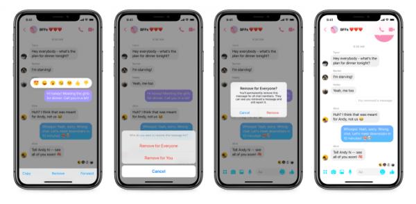 Facebook Messenger Herkesten Sil Özelliği Nasıl Kullanılır?