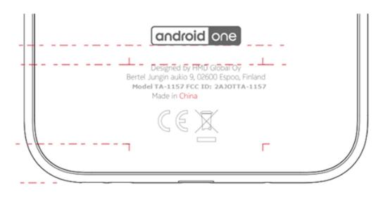 Android One İşletim Sistemli Bir Başka Nokia (TA-1157)