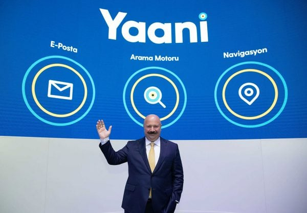 Yaani Harita ve e-Posta Hizmeti