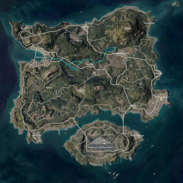 Pubg Erangel Haritası Güncellemesi