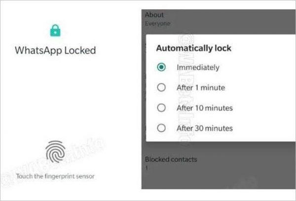 Android İçin WhatsApp'a Parmak İzi Kilidi Ne Zaman Geliyor?