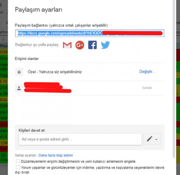 Google Drive Üzerinden Dosya Nasıl Paylaşılır?