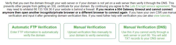 Web Siteniz İçin Ücretsiz SSL Sertifikası Nasıl Alınır?