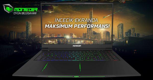 Monster Gaming Laptop Modellerinin Sağladığı Avantajlarla Rakipsiz Olun
