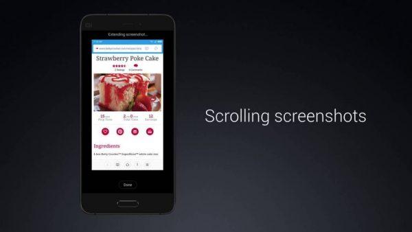Xiaomi Cihazlarda Uzun Ekran Görüntüsü Nasıl Alınır?