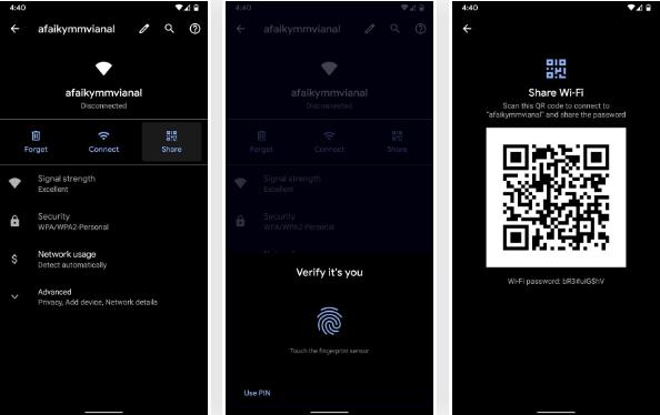 Android'de Kayıtlı Wifi Şifrelerini Görme