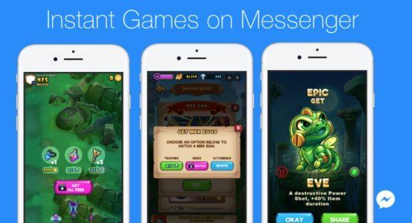 Instant Games Nedir? Facebook Messenger'dan Kaldırılıyor