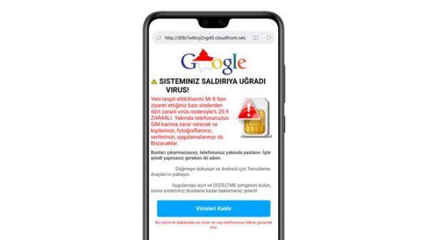 Android pop-up Virüs Temizliği Nasıl Yapılır?