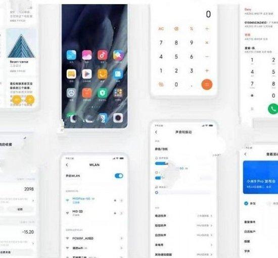 Xiaomi Miui 11'in Görselleri Sızdı