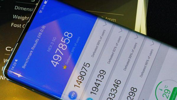 Antutu'nun Yeni Lideri Vivo Nex 3 5G Modeli Oldu