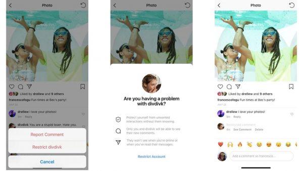 Instagram Restrict Ya da Kısıtlama Özelliği Nedir?