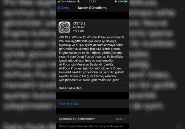 iOS 13.2 Yayınlandı Gelen Değişiklikler Neler?