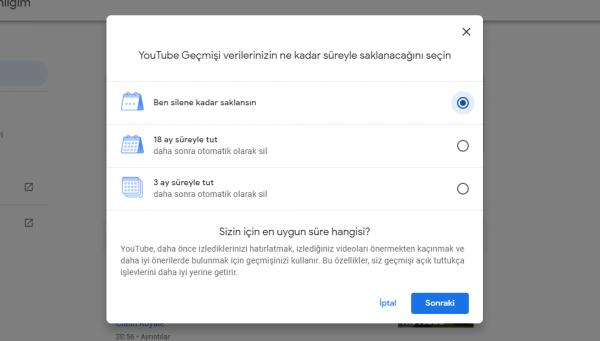 Youtube Geçmişinizi Otomatik Olarak Nasıl Silersiniz?